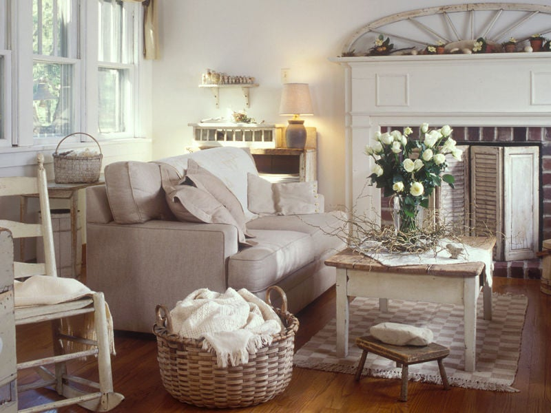 Negozi Arredamento Shabby Chic: Shabby chic interior design ideas ...