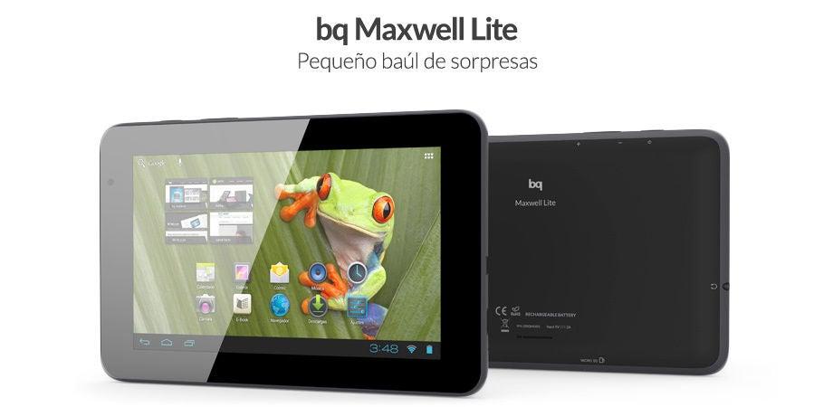 tablet bq maxwell lite