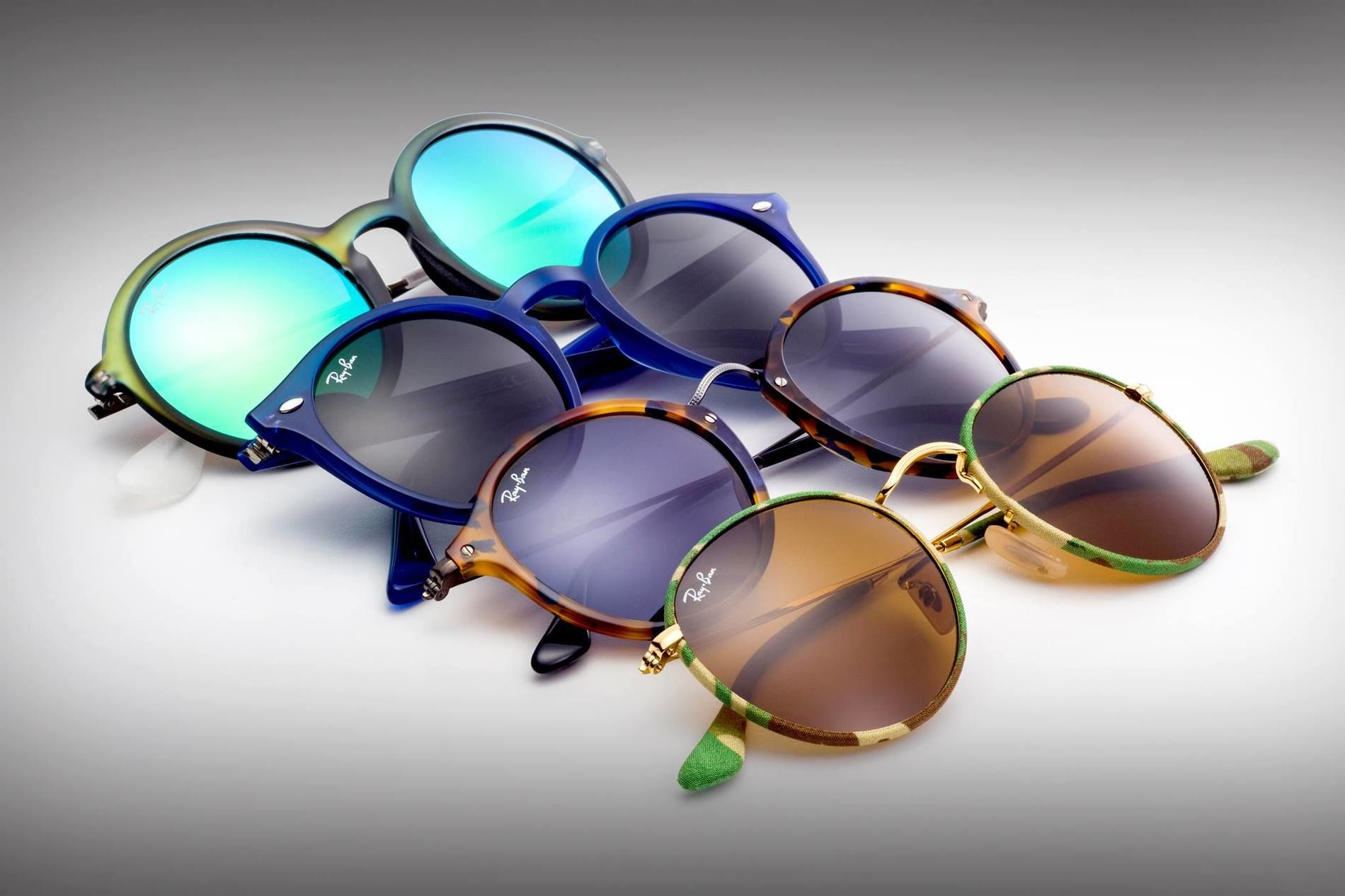 Ray Ban okulary Aviator reflex