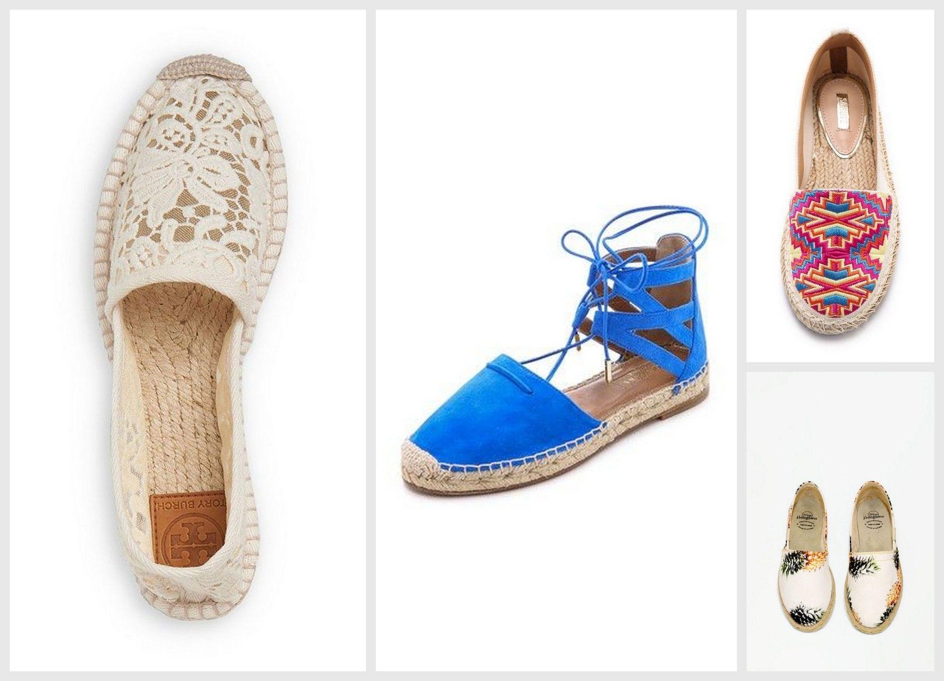 espadryle, modne buty na lato Kupon pl