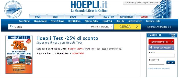 Codice Sconto Hoepli Sconti.com Shop3