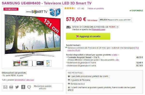 Codice Promozionale Pixmania Televisori Focus.it
