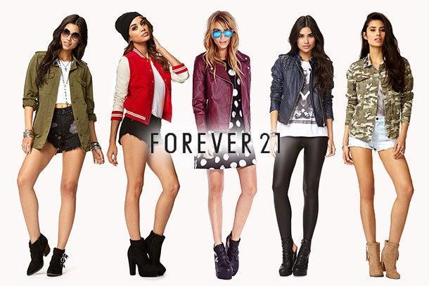 codigo promocional forever21