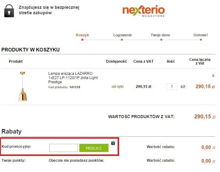 Nexterio kupony rabatowe - jak wykorzystać?