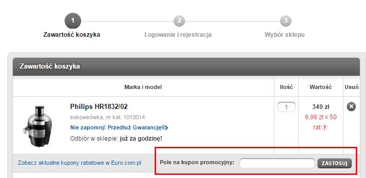 Jak wykorzystać RTV Euro AGD kod rabatowy?