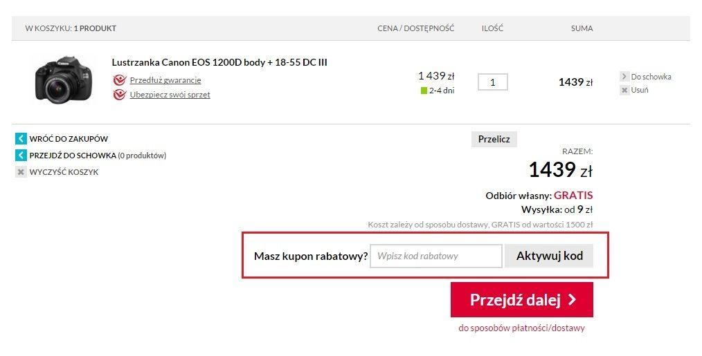 Jak wykorzystać Cyfrowe.pl kod rabatowy?