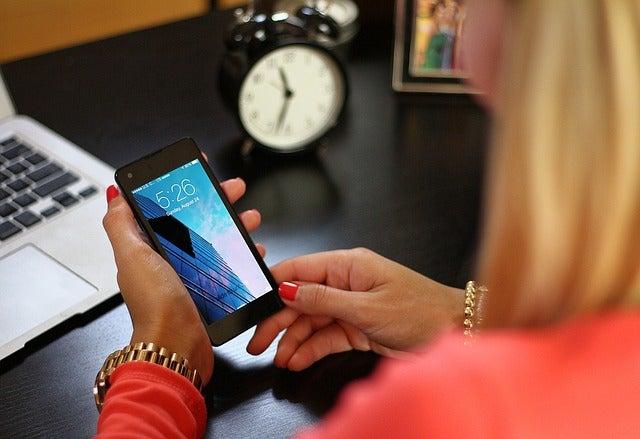 Smartphones para madres