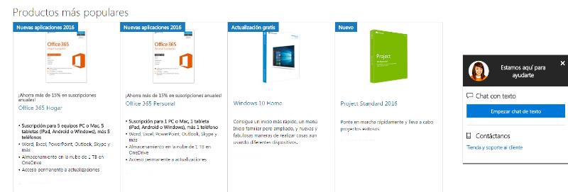 Ofertas Microsoft