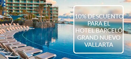 5% Descuento barcelo hoteles