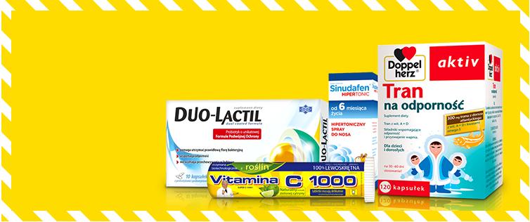 DOZ kod rabatowy leki na grype Kupon pl