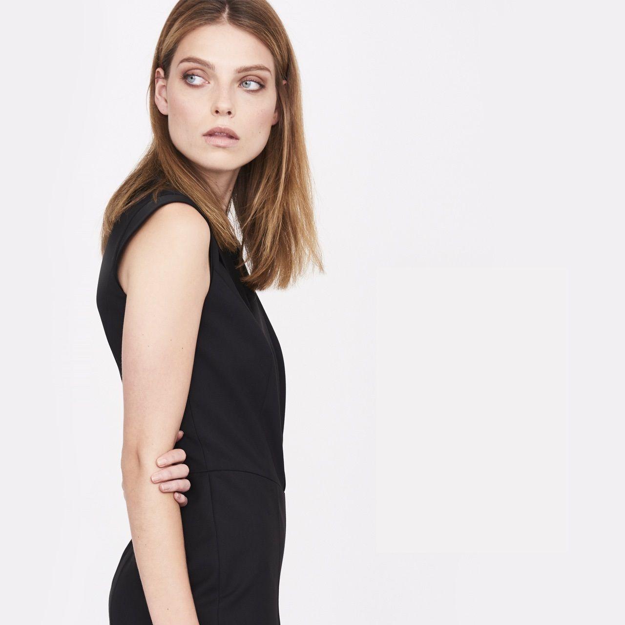 Simple promocje sukienka czarna polki pl