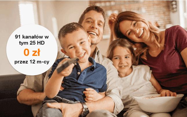 Orange promocje internet i telewizja fakt