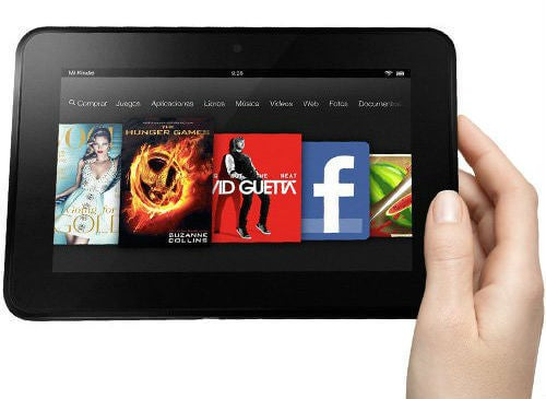 El Kindle de Amazon