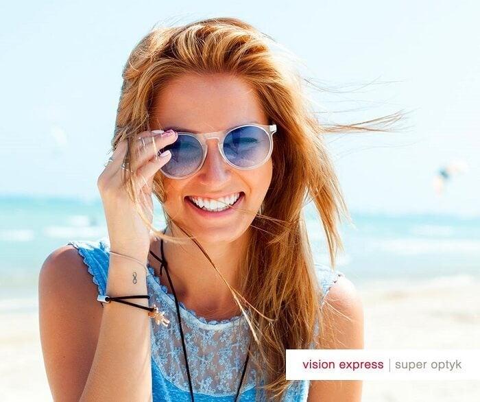 Vision Express okulary przeciwsloneczne Newsweek