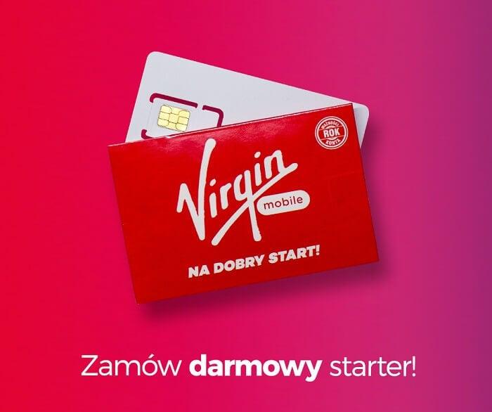 Kod promocyjny Virgin Mobile starter Newsweek
