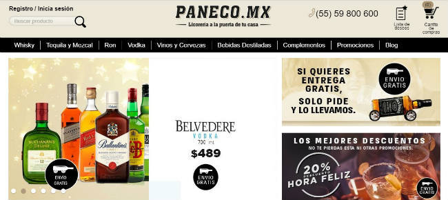 ofertas Paneco