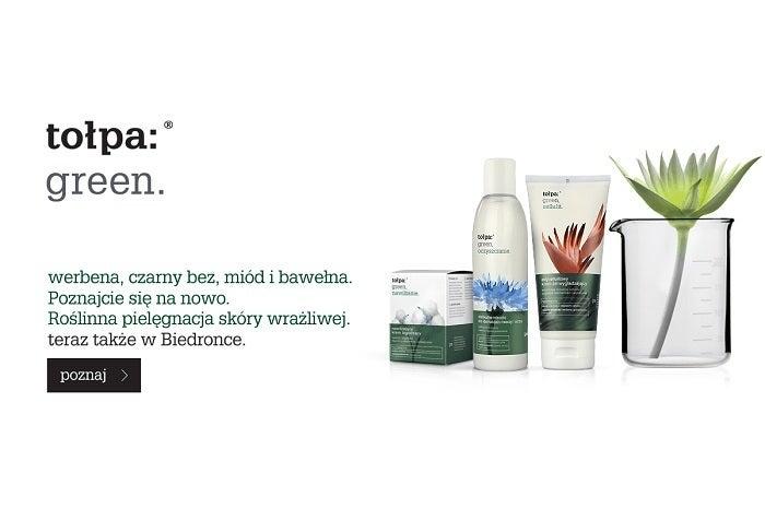 Tołpa promocja kosmetyki dla kobiet Newsweek