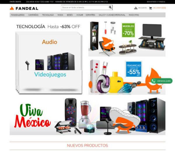 ofertas y promociones Fandeal