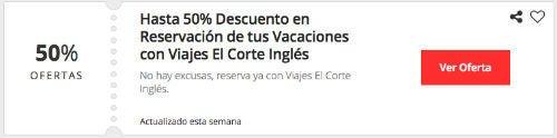 ofertas Viajes El Corte Inglés