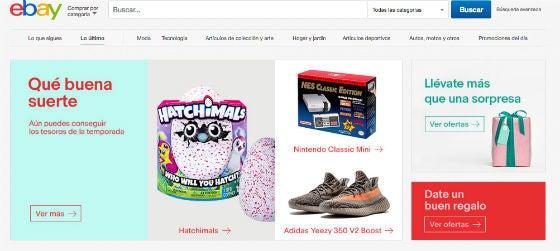 promociones y ofertas eBay