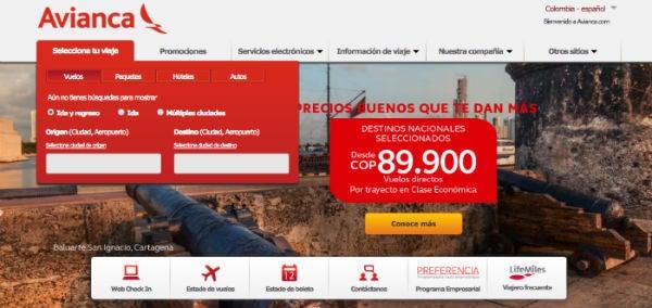 Ofertas Avianca Colombia