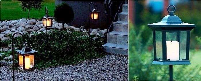 oswietlenie ogrodowe lampy led