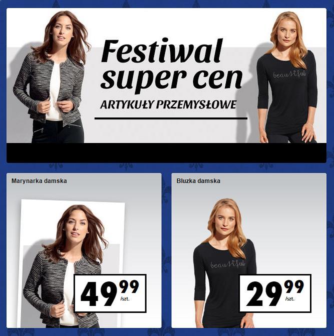 festiwal super cen biedronka