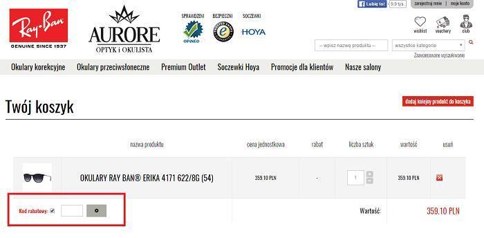 Aurore kod rabatowy na Fakt.pl jak zamawiać