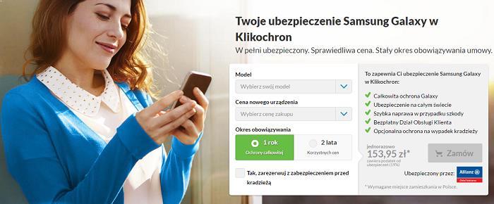 ubezpieczenia klikochron telefony i smartfony
