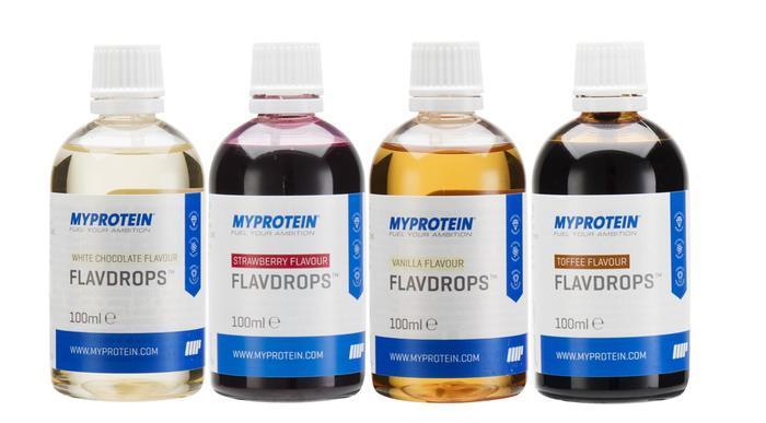 myprotein rabaty na syropy