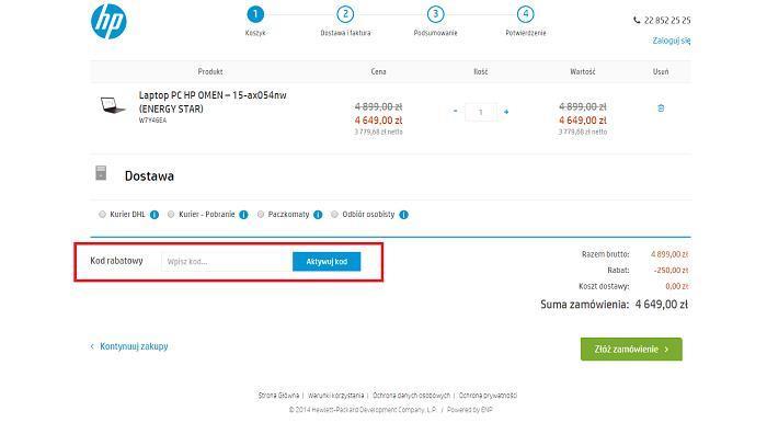 Promocje HP na Fakt.pl jak zamawiać?