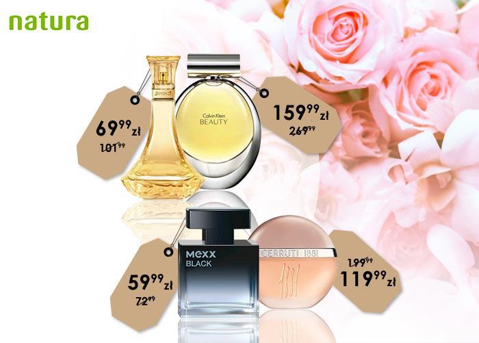 promocje natura na perfumy i zapachy
