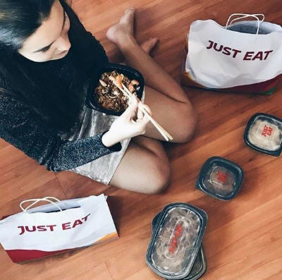 cupon descuento Just Eat print