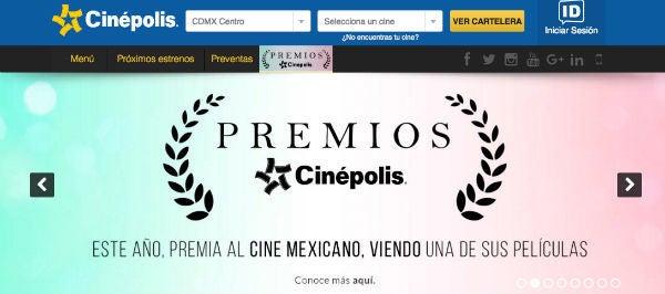 Descuentos Cinepolis