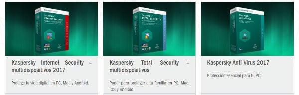 cupones Kaspersky