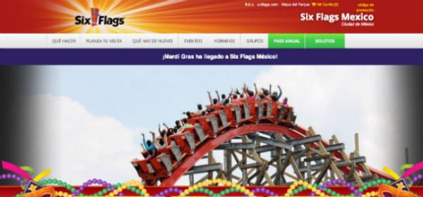 Descuentos Six Flags