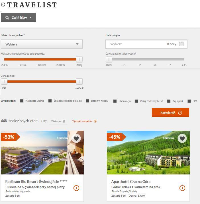 Travelist promocje Fakt jak wykorzystac