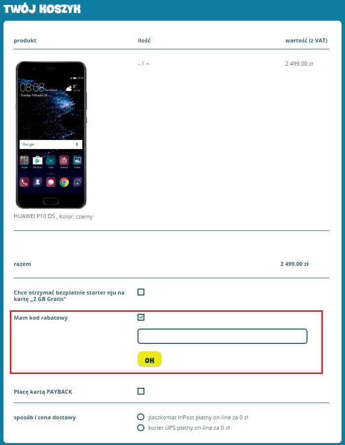 Nju Mobile promocje