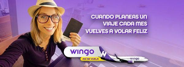 Código promocional Wingo
