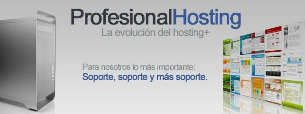 Promoción Profesional Hosting