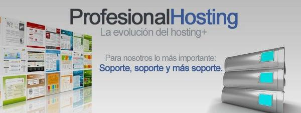 Codigo descuento Profesional Hosting