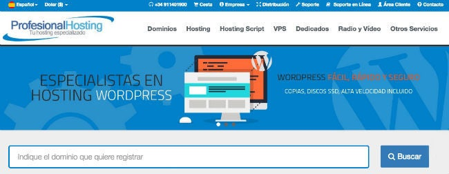 ofertas Profesional Hosting Colombia