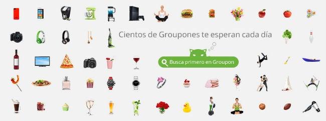ofertas y promociones Groupon