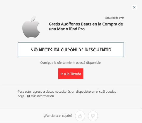 Promociones Apple