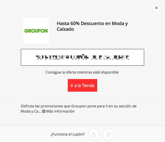 Cupon Groupon
