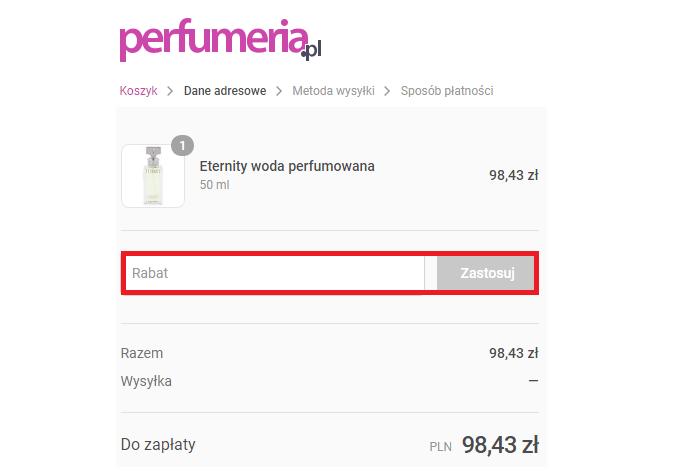 jak wykorzystać kod rabatowy perfumeria.pl fakt