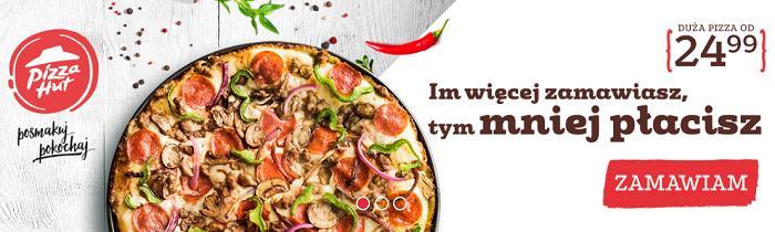 Kody promocyjne Pizza Hut fakt