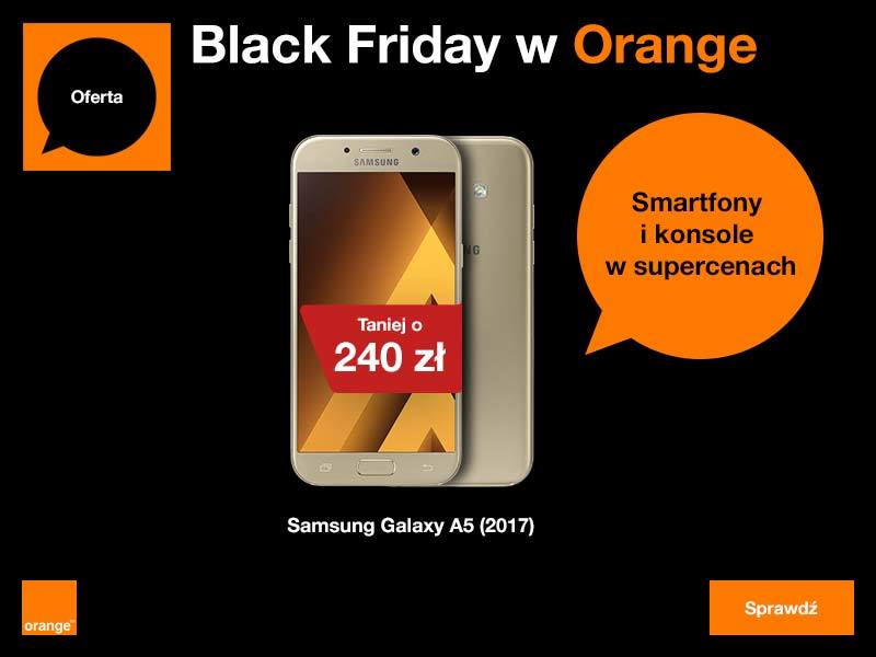 Orange promocje Black Friday