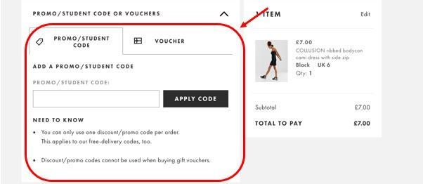 ASOS discount codes for mobile