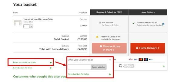 Dunelm discount codes for mobile